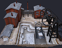 Stone-pit.(for strategy game).