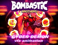 BOSS ''CYBER-DEMON'' VFX ANIMATION