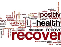 Addiction recovery tag cloud