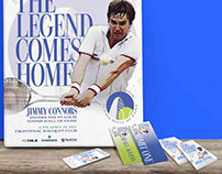The legend comes home: Jimmy Connors enters STL Hall