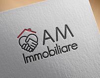 AM Immobiliare_Logo e Biglietti da visita