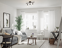Scandinavian Apartment for BY Rydens #8
