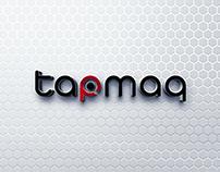 tapmaq Logo Design