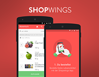 Shopwings - grocery delivery - android app