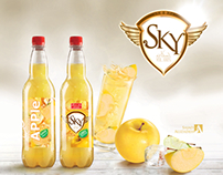 Sky carbonated drink
