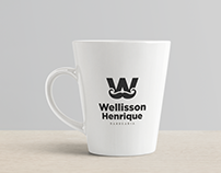 Logotipo | Wellisson Henrique - Barbearia