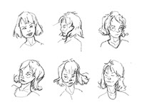 the SATURN project: character design