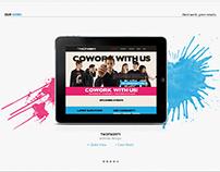 Two Twenty - Coworking Space Website