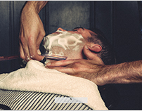 """""""Art of Shaving NY"""" photoshoot"""