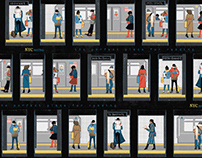Pattern: NYC Metro + Books