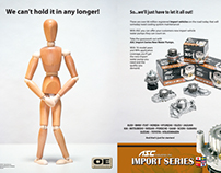 Automotive Aftermarket Print Ads