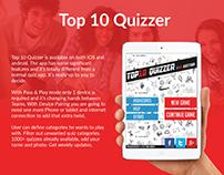 Top 10 Quizzer :- Case Study