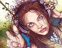 Illustration - Music Is My Aeroplane