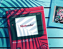 Nintendo Game Boy Illustrations