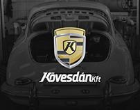 Kövesdán Kft - Rebranding