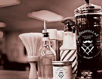 GoodFellla's Gentlemens Barbers Branding