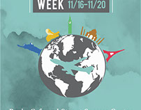 International Education Week Flyer & Web Banner
