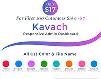 Kavach - Admin Dashboard Template