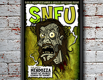 SNFU Gig Poster