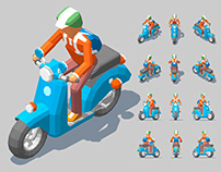 LOW POLY PEOPLE -1-