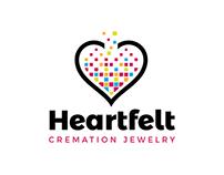 Heartfelt Cremation Jewelry Company Logo