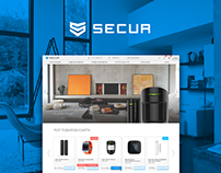 Secur security systems. Identity and Web