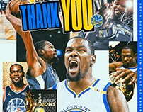 NBC - Warriors Free Agency Social Media Graphics