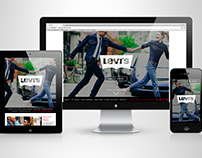 Levi's South Africa Website Redesign