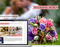 Design of website for Wedding Buro Moscow