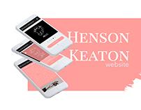 Keaton Henson / Website