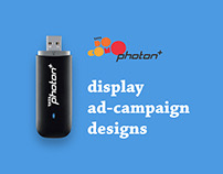 Display Ad-Campaign for Tata Photon