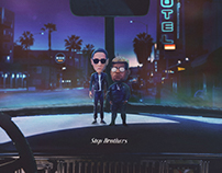 G-Eazy + Carnage: Stepbrothers (Integrated Campaign)