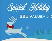 Holidays Discounts