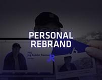 Personal rebrand.