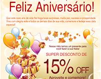E-mail marketing - Festa Express
