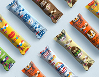Frikom ice creams, redesign