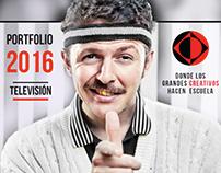 Tríptico 2016: TELEVISÓN - La Escuelita de Creativos