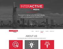 Interactive Media Agency Landing Page