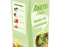 Aneto Packaging Design