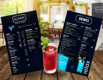 Eluvium Drink Menu