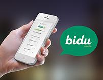 Bidu: Site Responsivo