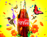 Gráfica Coca Cola, proyecto académico #DiseñoDigital