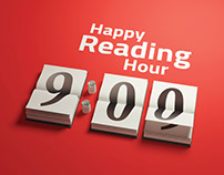 HAPPY READING HOUR