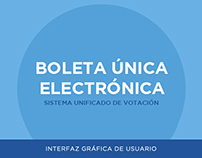 Boleta Única Electrónica I User Interface