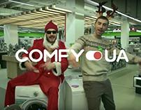 Рекламный ролик для Comfy (commercial video)