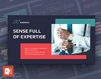 Business Consultant PowerPoint Presentation Template