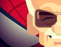 Stan Lee caricature
