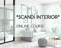 Scandi Interior. Online course.