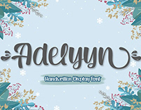 Free Adelyyn Display Font