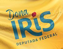 Identidade Campanha Dona Iris
